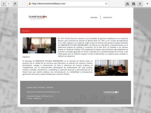 WEB - dimensioninmobiliaria.com